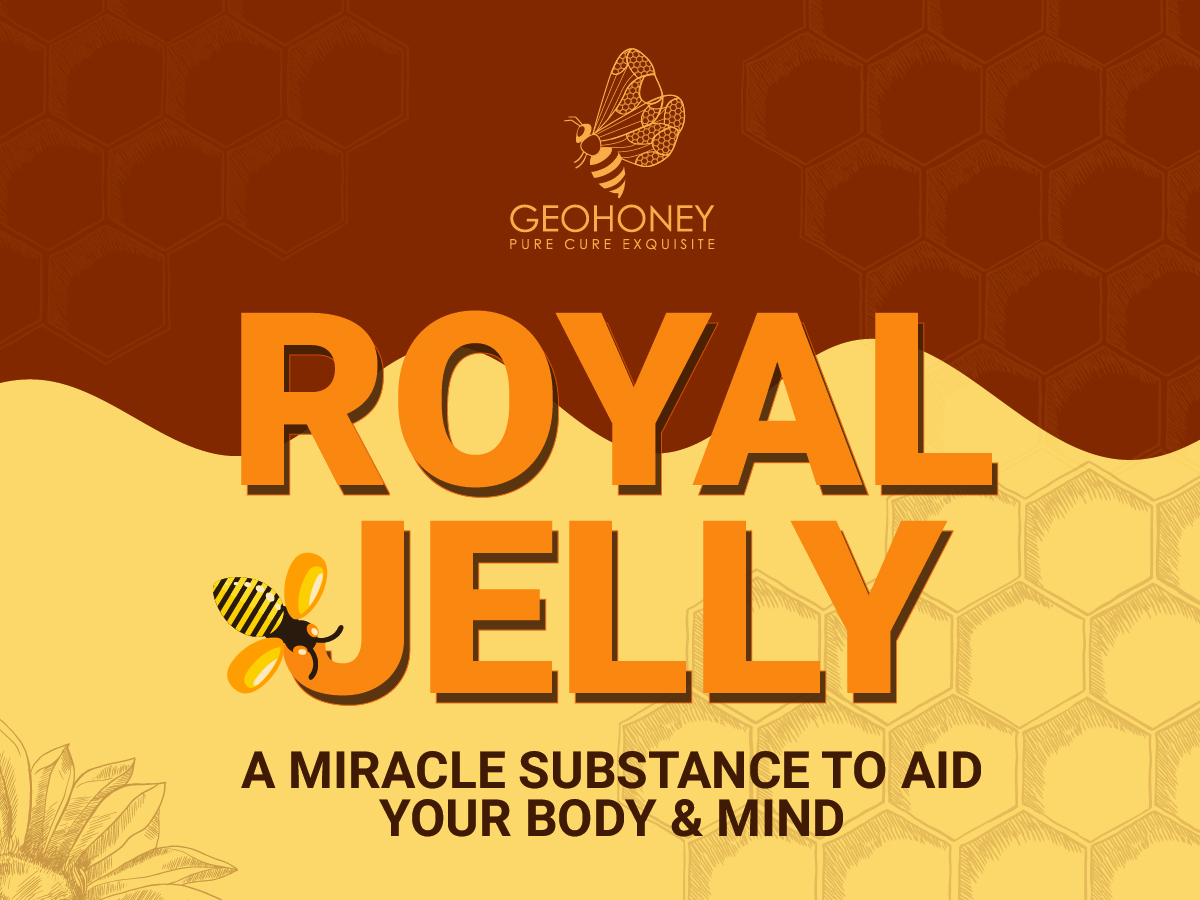 Royal Jelly - A Miracle Substance To Aid Your Body & Mind