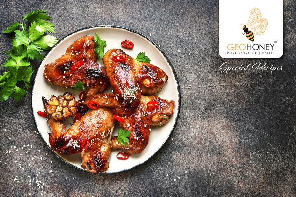 GeoHoney Chicken Wings