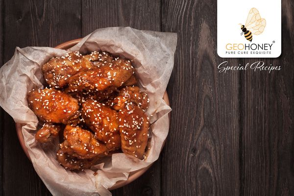 GeoHoney-Ginger Chicken Bites