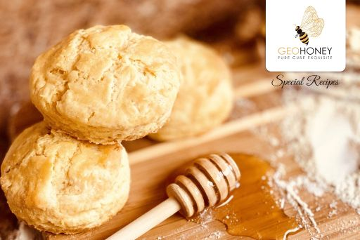 Clover honey biscuits