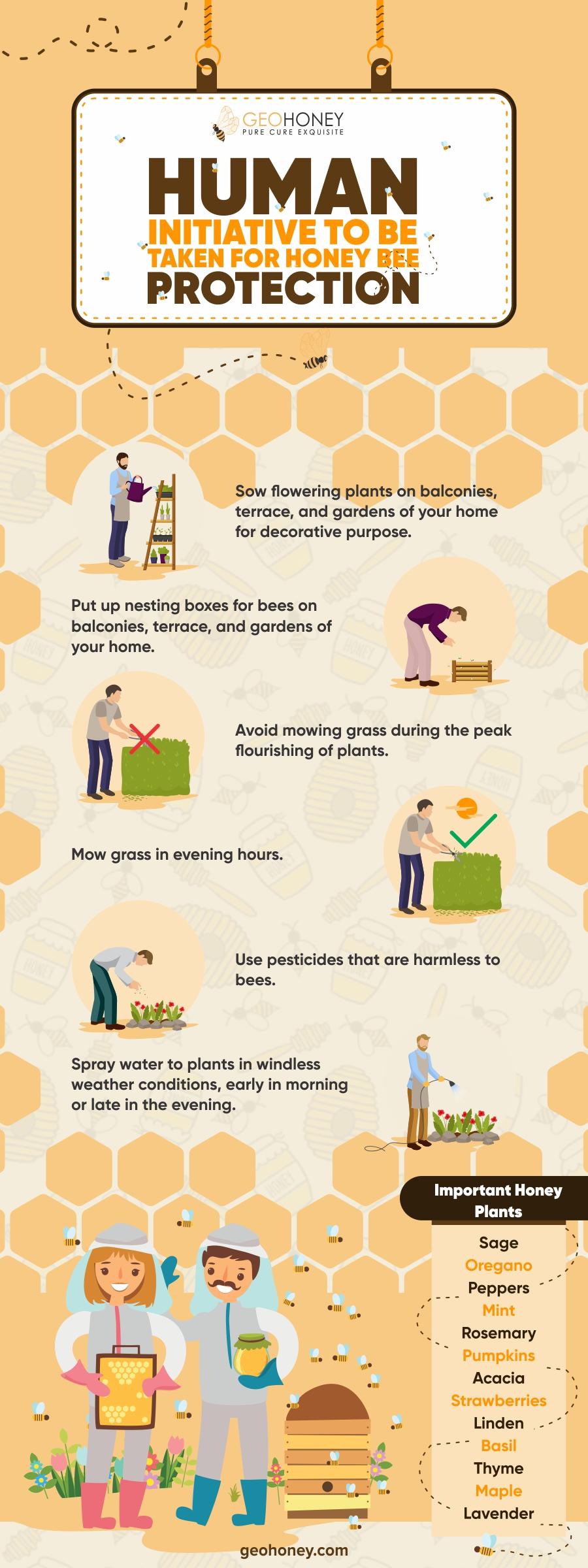 Honey Bee Protection - Geohoney