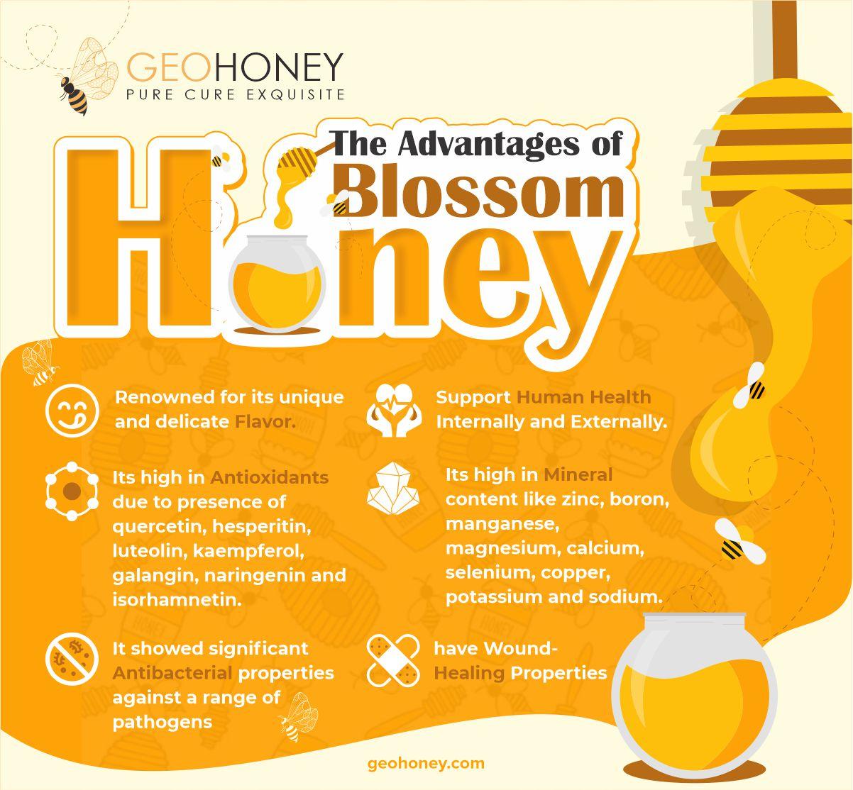 Blossom Honey Advantages - Geohoney